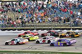 #19: Brandon Jones, Joe Gibbs Racing, Toyota Camry Menards/Tide and #20: Christopher Bell, Joe Gibbs Racing, Toyota Camry Ruud