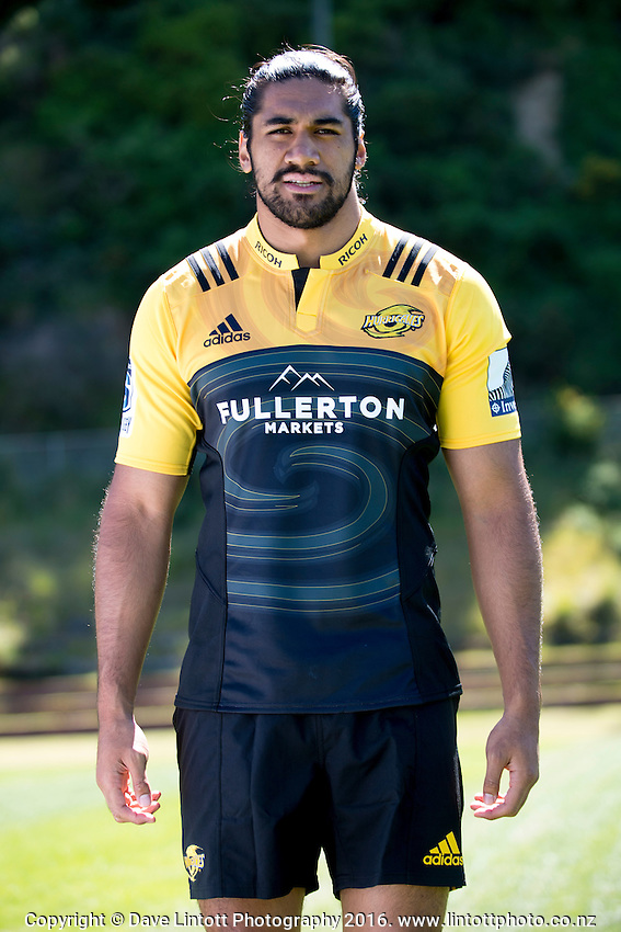 Michael Fatialofa. 2017 Hurricanes Super Rugby headshot at Rugby League Park in Wellington, New Zealand on Wednesday, 14 December 2016. Photo: Dave Lintott / lintottphoto.co.nz