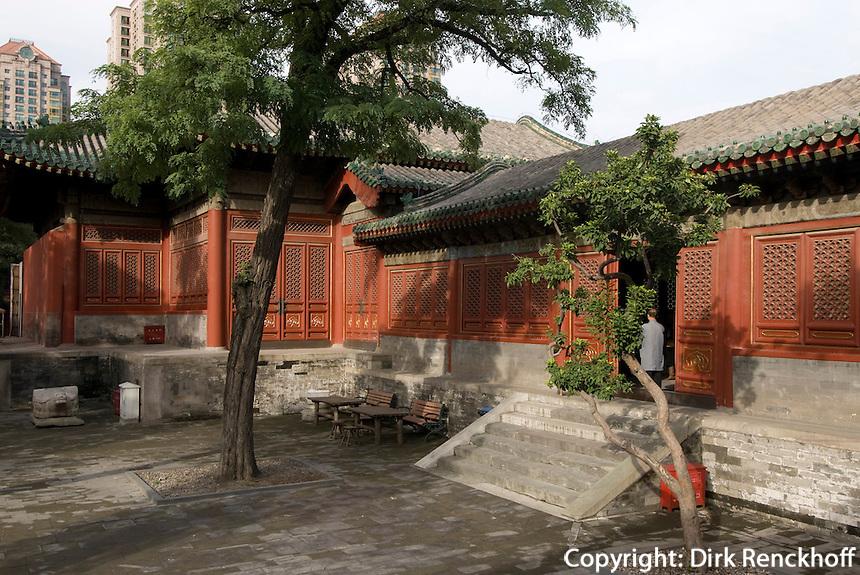 China, Peking (Beijing), im daoistischen Tempel Dongyue Miao