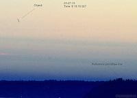 #2 Saucer over Bainbridge Island, WA