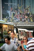Mecidiyekoy town centre, Istanbul, Turkey