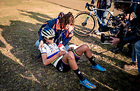 cx world champion Ceylin del Carmen Alvarado (NED/Alpecin-Fenix) also becomes the 2020 European Champion<br /> <br /> UEC Cyclocross European Championships 2020 - 's-Hertogenbosch (NED)<br /> <br /> Elite Women's Race<br /> <br /> ©kramon