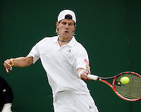 26-6-06,England, London, Wimbledon, first round match, Melzer