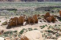 Kin Kletso at Chaco Culture National Historic Park.