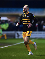 Newport County's Dan Butler<br /> <br /> Photographer Andrew Vaughan/CameraSport<br /> <br /> The EFL Sky Bet League Two - Lincoln City v Newport County - Saturday 22nd December 201 - Sincil Bank - Lincoln<br /> <br /> World Copyright © 2018 CameraSport. All rights reserved. 43 Linden Ave. Countesthorpe. Leicester. England. LE8 5PG - Tel: +44 (0) 116 277 4147 - admin@camerasport.com - www.camerasport.com