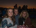 Emma Davis, Jared Mundt and Riley Corbridge at the Great Reno Balloon Races held on Saturday, Sept. 10, 2016.