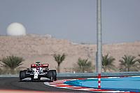 26th March 2021; Sakhir, Bahrain; F1 Grand Prix of Bahrain, Free Practice sessions;  07 RAIKKONEN Kimi (fin), Alfa Romeo Racing ORLEN C41 during Formula 1 Gulf Air Bahrain Grand Prix