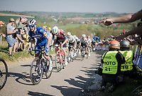 Julian ALAPHILIPPE (FRA/Deceuninck-Quick Step) up the Gulpenerberg<br /> <br /> 54th Amstel Gold Race 2019 (1.UWT)<br /> One day race from Maastricht to Berg en Terblijt (NED/266km)<br /> <br /> ©kramon