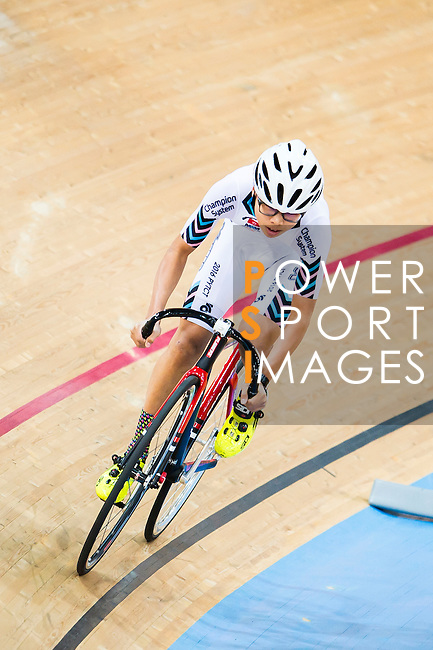 Li Kwun Shing of X SPEED in action at the Hong Kong Track Cycling Race 2017 Series 5 on 18 February 2017 at the Hong Kong Velodrome in Hong Kong, China. Photo by Marcio Rodrigo Machado / Power Sport Images