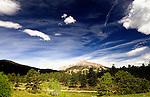 Meeker Peak as seen from Highlands Presbyterian Camp in Allenspark, CO