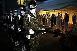 Soldiers celebrate International Nurses Day in Medellin, Colombia