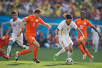Netherlands vs Chile, June 23, 2014