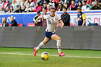 HARRISON, NJ - MARCH 08: Megan Rapinoe #15 of the United States during a game between Spain and USWNT at Red Bull Arena on March 08, 2020 in Harrison, New Jersey.