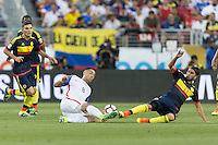 Santa Clara, CA. - June 3, 2016: The U.S. Men's national team are defeated by Colombia 0-2 during their opening match at the 2016 Copa America Centenario at Levi's stadium.