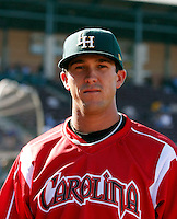 Miles Durham ---  At the annual California League-Carolina League all-star game at the Diamond in Lake Elsinore, CA - 06/23/2009. The game was won by the California League, 2-1, on a walk-off homerun by Lancaster's Jon Gaston..Photo by:  Bill Mitchell/Four Seam Images