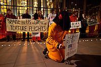 11.01.2013 - Vigil for the 11th Anniversary of Guantanamo Bay Detainment Camp