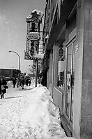 Hiver , circa 1970 (date exacte inconnue)<br /> <br /> PHOTO :  Alain Renaud - Agence Quebec Presse