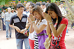 Praying At Pagoda