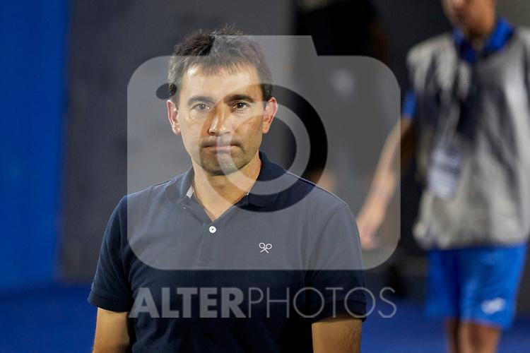Real Sociedad's coach Asier Garitano during La Liga match. August 24, 2018. (ALTERPHOTOS/A. Perez Meca)