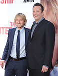 Owen Wilson and Vince Vaughn at The Twentieth Century Fox World Premiere of The Internship held at The Regency Village Theatre in Westwood, California on May 29,2013                                                                   Copyright 2013 Hollywood Press Agency