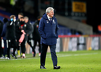 2nd January 2021; Selhurst Park, London, England; English Premier League Football, Crystal Palace versus Sheffield United; Crystal Palace Manager Roy Hodgson walking on the pitch after full time