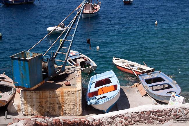 Ammoudi harbor near Oia, Santorini