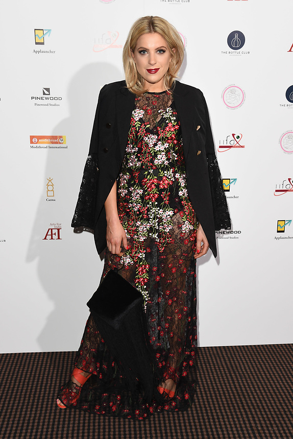 Olivia Cox<br /> at the Arts for India charity event at BAFTA, London<br /> <br /> ©Ash Knotek  D3403  24/05/2018