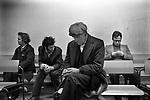 Labour Exchange south London. England 1976<br /> Job Centre, Labour Exchange,unemployment, out of work, on the dole,
