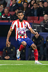 MADRID, SPAIN - FEBRUARY 18: Thomas Lemar of Atletico de Madrid in action during the UEFA Champions League football match, round 16, played between Atletico de Madrid and Liverpool FC at Wanda Metropolitano stadium on February 18, 2020 in Madrid, Spain.<br /> (ALTERPHOTOS/David Jar)