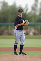 Chicago White Sox pitcher Ian Clarkin (40) prepares to deliver a pitch to the plate during an Instructional League game against the San Diego Padres on September 26, 2017 at Camelback Ranch in Glendale, Arizona. (Zachary Lucy/Four Seam Images)