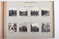 BNPS.co.uk (01202 558833)<br /> Pic: C&TAuctions/BNPS<br /> <br /> Fascinating previously unseen World War One photos showing the conflict from the German perspective have come to light 103 years on.<br /> <br /> Major Hans Rudloff, a distinguished artillery officer, took hundreds of images of some of the major Western Front battles.<br /> <br /> There are scenes of destruction on the Verdun and at Cambrai, as well as snapshots of captured British soldiers on the Somme in the early days of the German Spring Offensive in March 1918.