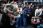 Chinese New Year Gerrard Street Soho London  1970s UK