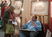 Eli Ofir (www.homeportraits4u.co.uk),  at the Craft & Design Show (www.craftinfocus.com), Spectrum Leisure Centre, Guildford.
