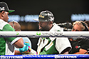 """MIAMI GARDENS, FLORIDA - JUNE 06: Former world welterweight Floyd """"Money"""" Mayweather enter the ring for contracted eight-round exhibition boxing match with YouTube personality Logan """"Maverick"""" Paul on June 06, 2021 in Miami Gardens, Florida. ( Photo by Johnny Louis / jlnphotography.com )"""