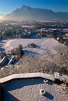 Blick von Festung in Salzburg, Österreich, Unesco-Weltkulturerbe