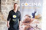 Juan Pozuelo during the presentation of the new season of Canal Cocina at Spring FesTVal 2017 in Burgos, Spain. March 30, 2017. (ALTERPHOTOS/BorjaB.Hojas)