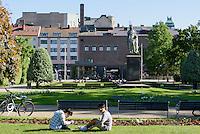 Hoglands-Park in Karlskrona, Provinz Blekinge, Schweden, Europa, UNESCO-Weltkulturerbe<br /> Hoglands Park  in Karlskrona, Province Blekinge, Sweden