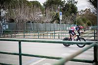 Brent Van Moer (BEL/Lotto Soudal)<br /> <br /> Final stage 7 (ITT) from San Benedetto del Tronto to San Benedetto del Tronto (10.1km)<br /> <br /> 56th Tirreno-Adriatico 2021 (2.UWT) <br /> <br /> ©kramon