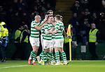 Celtic v St Johnstone…30.01.19…   Celtic Park    SPFL<br />Callum McGregor celebrates his goal<br />Picture by Graeme Hart. <br />Copyright Perthshire Picture Agency<br />Tel: 01738 623350  Mobile: 07990 594431