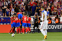 Harrison, NJ - Friday Sept. 01, 2017: Marco Ureña during a 2017 FIFA World Cup Qualifier between the United States (USA) and Costa Rica (CRC) at Red Bull Arena.