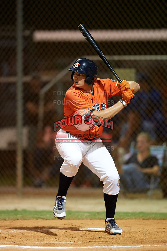 Triston Casas (19) while playing for Houston Astros Scout Team/Elite Squad based out of Pembroke Pines, Florida during the WWBA World Championship at the Roger Dean Complex on October 19, 2017 in Jupiter, Florida.  Triston Casas is a third baseman / first baseman from Pembroke Pines, Florida who attends American Heritage High School.  (Mike Janes/Four Seam Images)