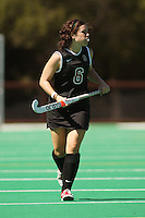 STANFORD, CA - SEPTEMBER 6:  Katie Mitchell of the Stanford Cardinal during Stanford's 7-1 win over Kent State at the Varsity Field Hockey Turf on September 6, 2009 in Stanford, California.