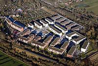 Gleisdreieck Asylanten Wohnungsbau  : EUROPA, DEUTSCHLAND, HAMBURG 07.01.2018: im Bau befindliches Wohngebiet Gleisdreieck Mittlerer Landweg