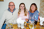 Enjoying the evening in Bella Bia on Friday, l to r: Pat, Kelley and Helen Pierce from Tralee.