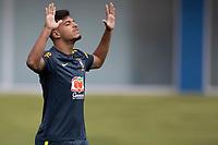 10th November 2020; Granja Comary, Teresopolis, Rio de Janeiro, Brazil; Qatar 2022 qualifiers; Gabriel Menino of Brazil during training session in Granja Comary