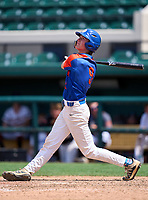Bartow Yellow Jackets Jonathan Vastine (9) during the 42nd Annual FACA All-Star Baseball Classic on June 6, 2021 at Joker Marchant Stadium in Lakeland, Florida.  (Mike Janes/Four Seam Images)