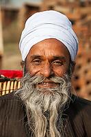 Rajasthan, India.  A Hindu Priest.