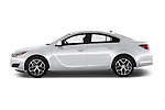 Car Driver side profile view of a 2017 Buick Regal Sport-Touring 4 Door Sedan Side View