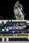 Ludger Beerbaum of Germany rides Colestus in action during the Longines Grand Prix as part of the Longines Hong Kong Masters on 15 February 2015, at the Asia World Expo, outskirts Hong Kong, China. Photo by Victor Fraile / Power Sport Images