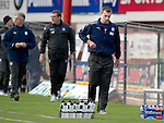 Dundee v St Johnstone....29.09.12      SPL.Barry Snith trudges off at full time.Picture by Graeme Hart..Copyright Perthshire Picture Agency.Tel: 01738 623350  Mobile: 07990 594431